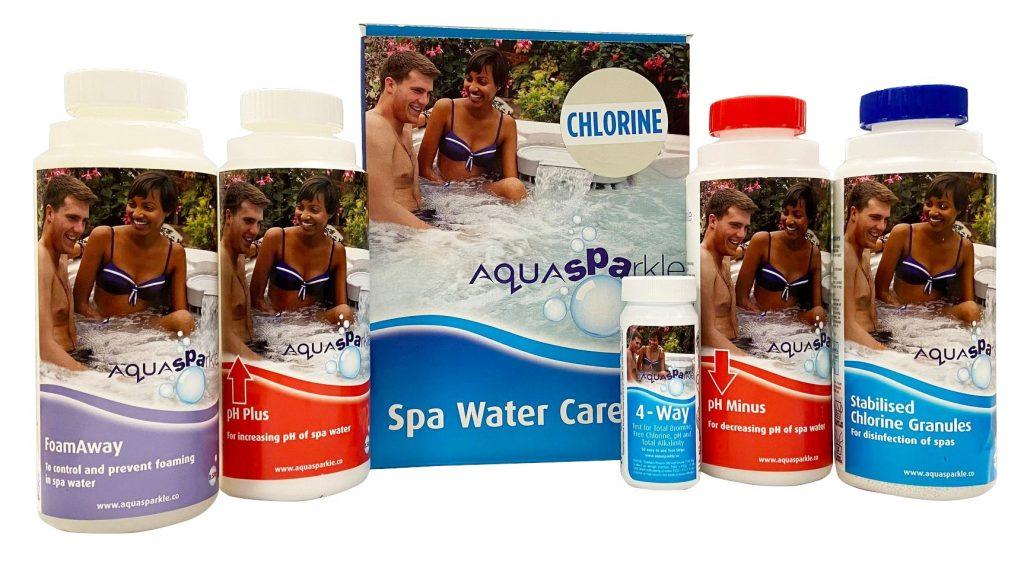 Spa Starter Pack - Chlorine