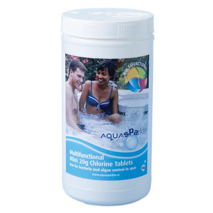 Spa Multifunctional 20g Chlorine Tablets - 1kg
